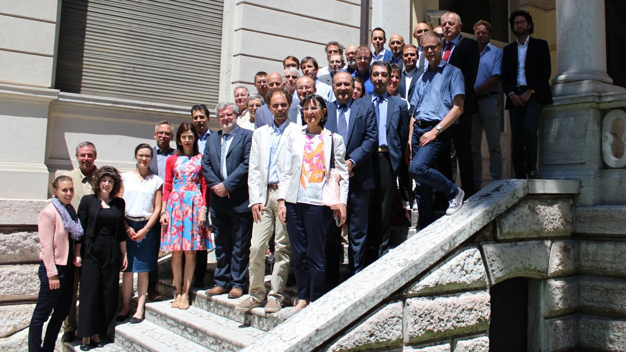 AG4 Members - 8th AG4 Meeting 19 June 2018 in Trento