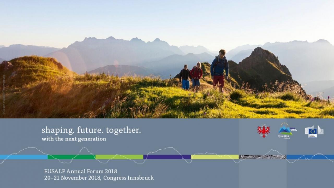 Registration 2nd EUSALP Annual Forum 2018