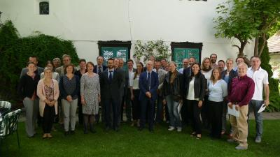AG6 members at their 3rd meeting in Pörtschach, Carinthia, on 8-9 June 2017.