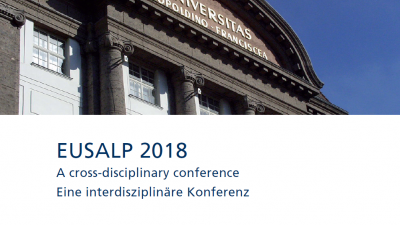 EUSALP 2018 - A cross-disciplinary conference- organized by the University of Innsbruck