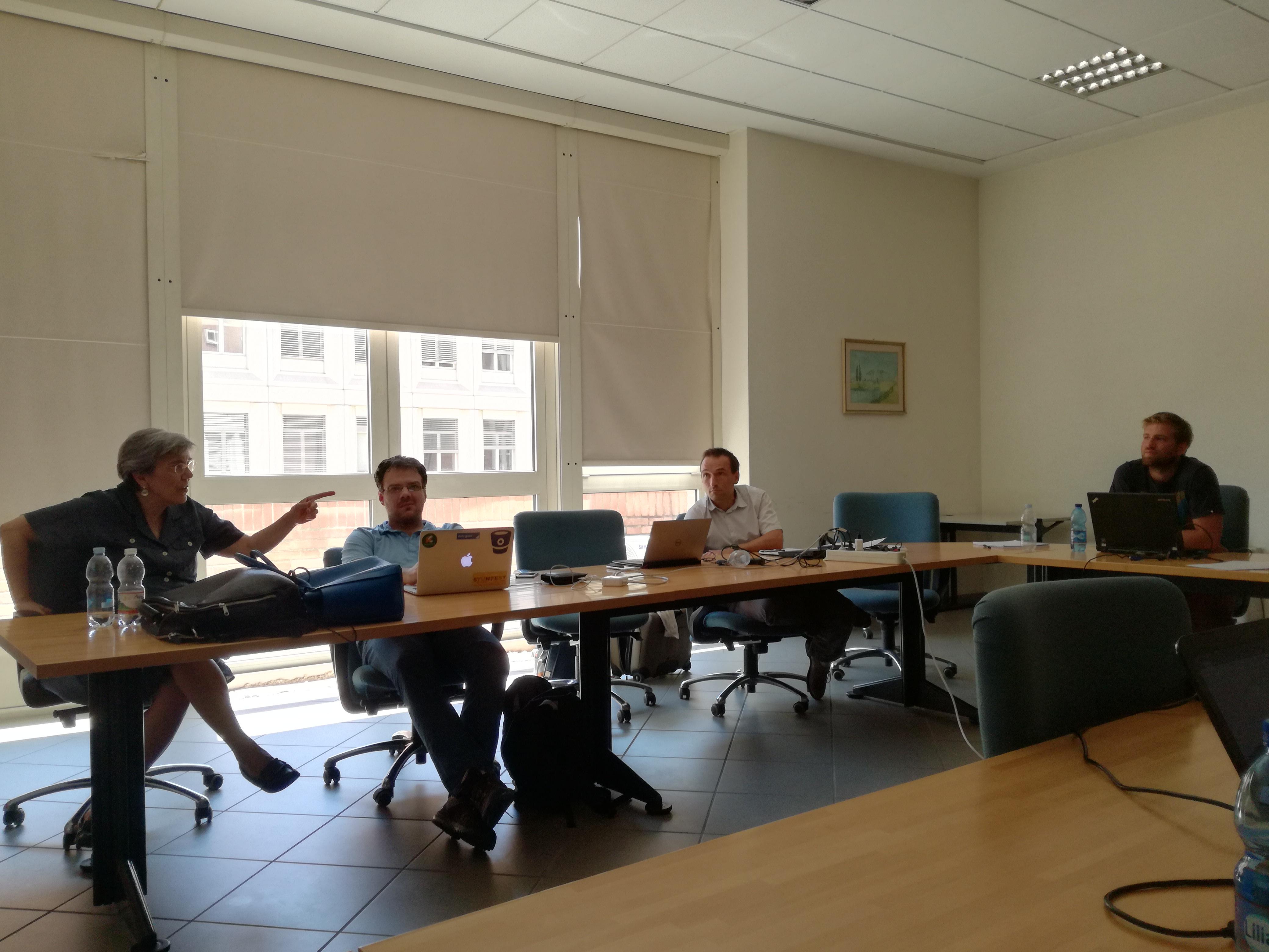 Kick-off meeting at the University of Modena and Reggio Emilia