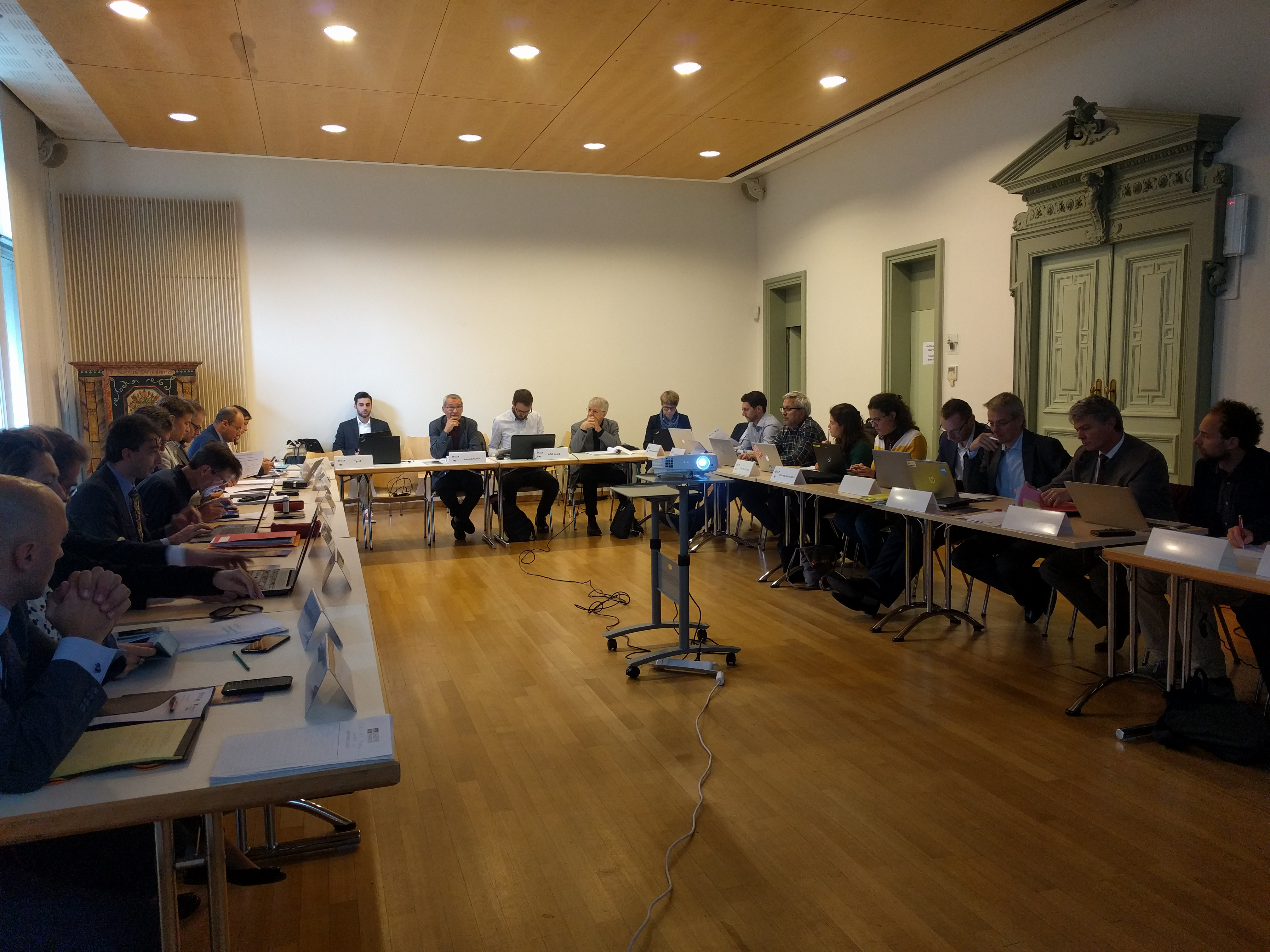 9th AG4 Meeting - 6/7 November 2018 in Brussels