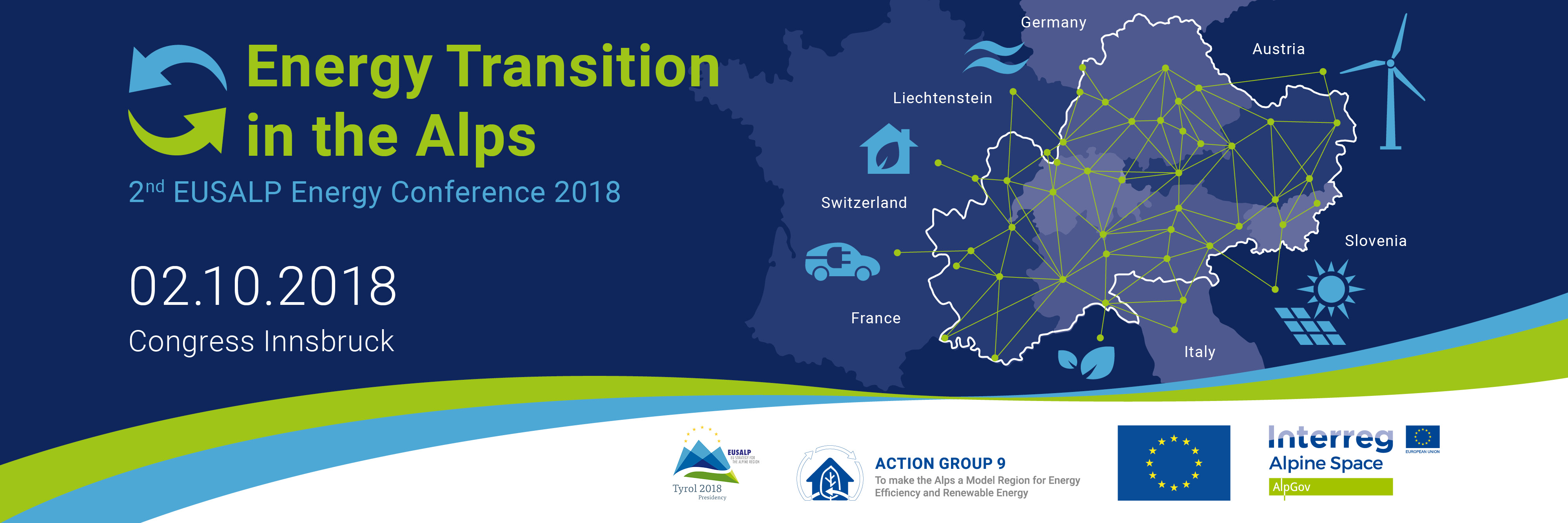EUSALP Energy Conference 2018 - ENERGY TRANSITION IN THE ALPS | EUSALP