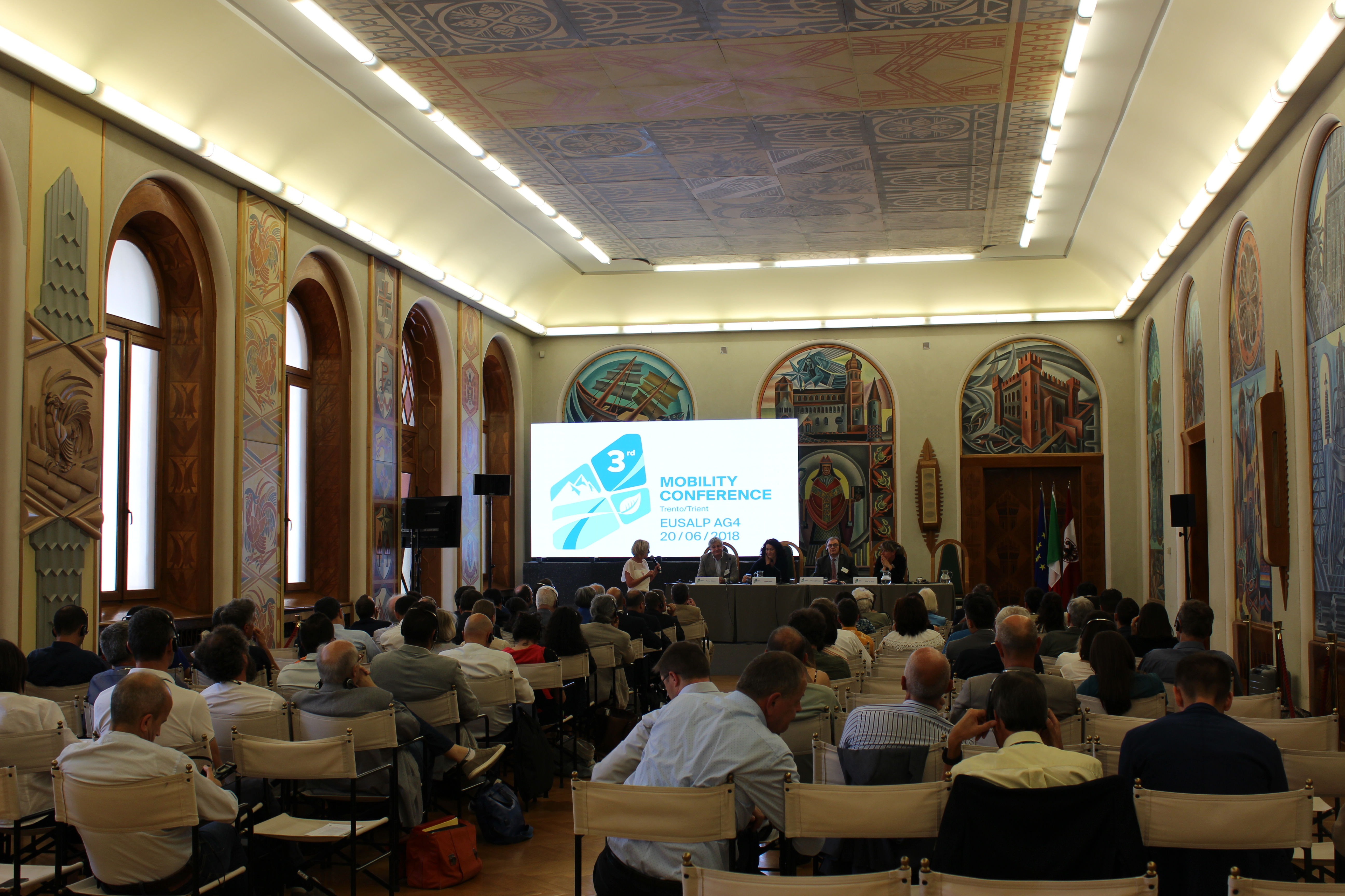 3rd EUSALP AG4 Mobility Conference - 20 June 2018 in Trento