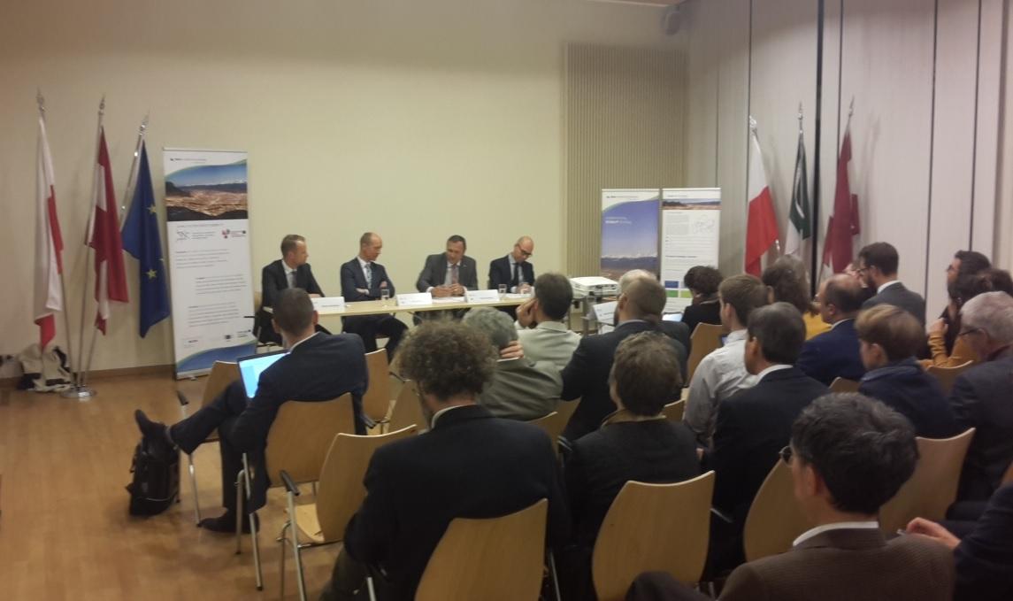 EUSALP AG4 evening exchange event on 6 November 2018 in Brussels