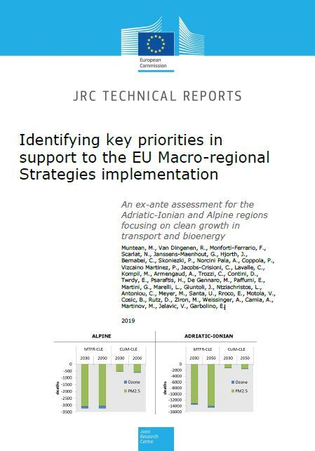 Macro-regions of Europe: Identifying key priorities in